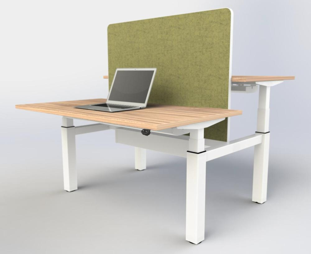 ebench sitstand bench desk 1200mm wide