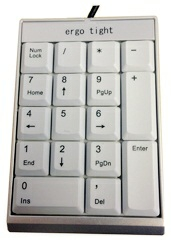Ergotight Number Pad