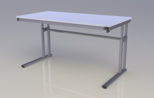 Mod-C Height Adjustable Desk - Wave
