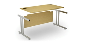 Stockit Fixed Height Desks - Rectangular