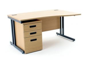 Stockit Fixed Height Desks - Wave
