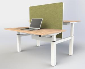eBench Sit-Stand Bench Desk (1200mm Wide)